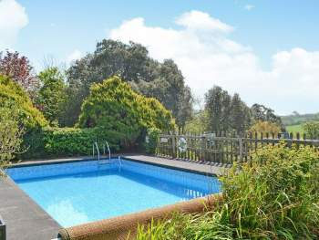 WONDERFUL OUTDOOR HEATED SWIMMING POOL (SHARED WITH OWNER AND OTHER PROPERTIES ON-SITE)
