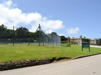 TENNIS COURTS WITHIN THE GROUNDS