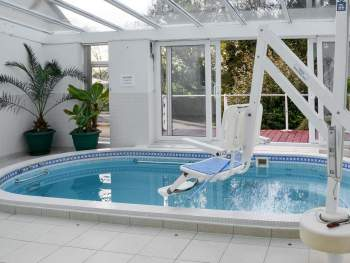 POOL ADAPTED FOR DISABLED