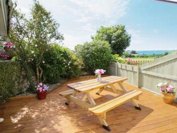 DECKING OVERLOOKING THE COAST